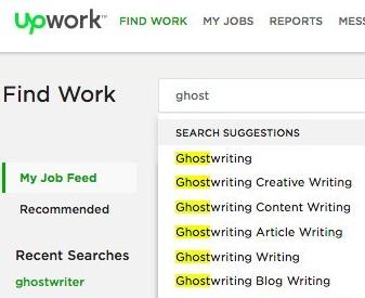 UpWork Search